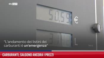 Carburanti, salgono ancora i prezzi