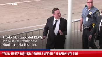 Tesla, Hertz acquista 100mila veicoli e le azioni volano