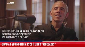 Obama e Springsteen, esce il libro ?Renegades?