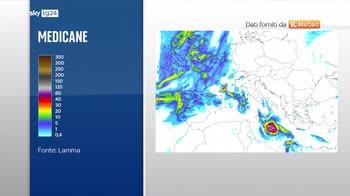 Previsioni meteo: medicane potrebbe portare ancora alluvioni