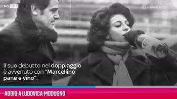 VIDEO Addio a Ludovica Modugno, attrice e doppiatrice