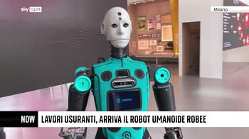 ++NOW Robee, il primo robot umanoide made in Italy