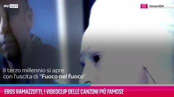 VIDEO Eros Ramazzotti, i videoclip delle canzoni più famose