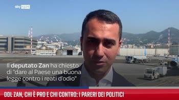 Ddl Zan, chi � pro e chi contro: i pareri dei politici