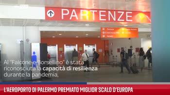 L?aeroporto di Palermo premiato miglior scalo d?Europa