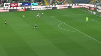 Serie A, Udinese-Verona 1-1: gol e highlights