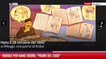 Doodle per Kan? Jigor?, ?padre del judo?