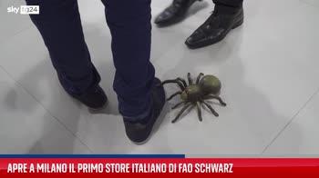 Apre il negozio di giocattoli Fao Schwarz a Milano