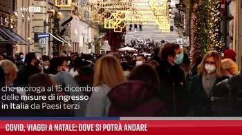 Covid, viaggi a Natale: dove si potr� andare