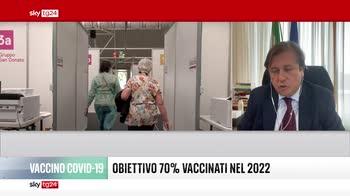Sileri a Sky TG24: vaccino non � eterno, verosimile terza dose