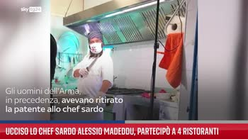 Ucciso lo chef sardo Alessio Madeddu, partecip� a 4 Ristoranti