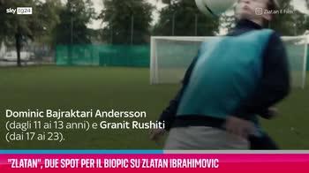 VIDEO Zlatan, due spot per il biopic su Zlatan Ibrahimovic