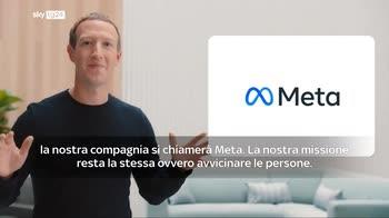 Facebook cambia nome, Zuckerberg: si chiamer� Meta